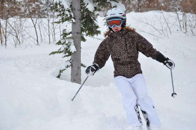 family ski day at Kicking Horse Mountain Resort Golden BC