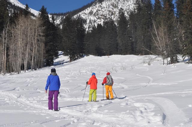 Snowshoeing in Golden BC