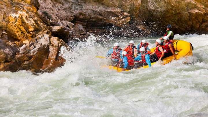 Rafting In Golden Tourism Golden