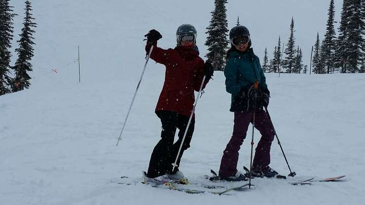 Skiing in Golden BC at Kicking Horse Mountain Resort