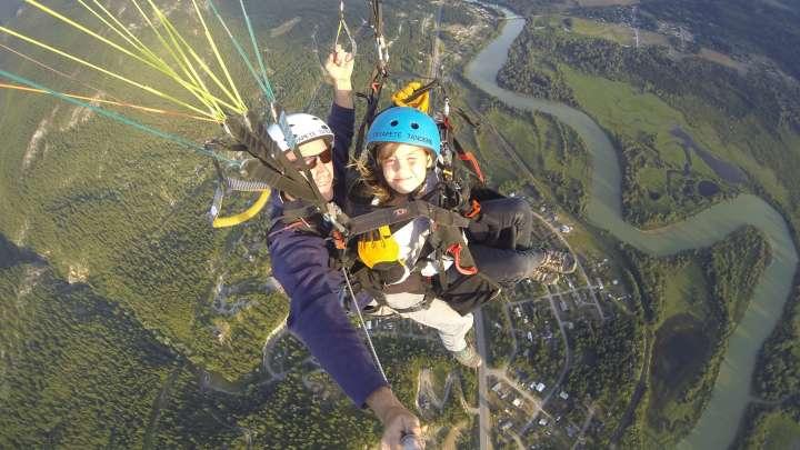 Skydive, para/hang glide in Golden | Tourism Golden