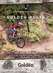 Golden BC Bike Map