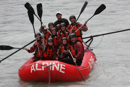 Alpine Rafting - Golden BC