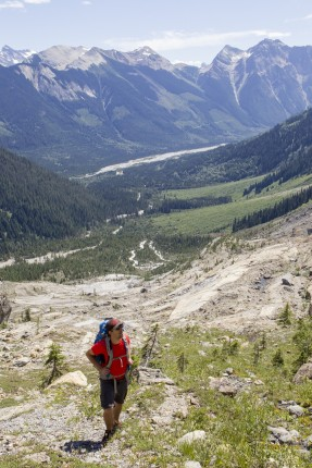 Photo: Abby Cooper - Mummery Glacier - Golden BC