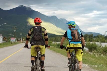 Photo: Brian Coles - Mountain Biking - Golden BC