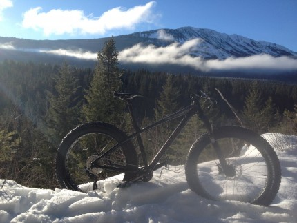 Fat biking in Golden BC- Andy Bostock