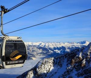 Winter activities in Golden BC Canadian Rockies