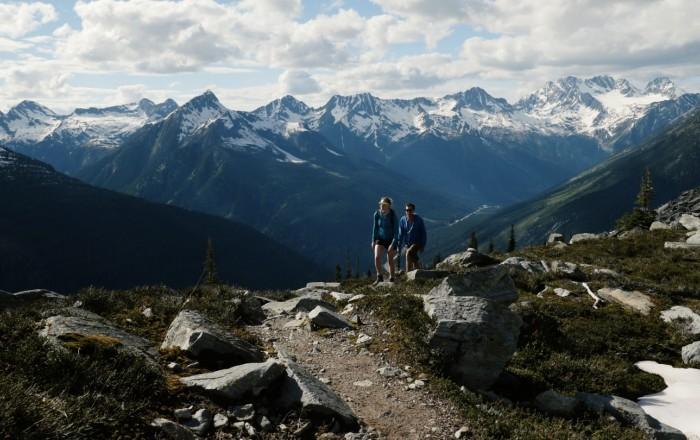 Glacier Crest Trail Glacier National Park near Golden BC