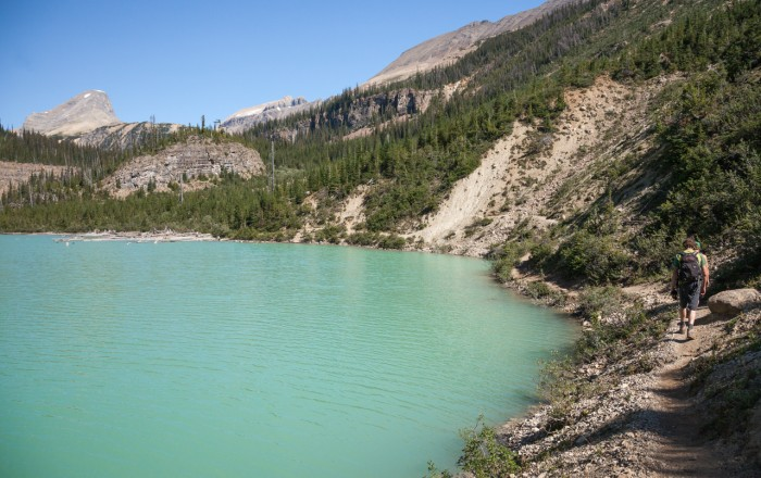 Hiking in Golden BC Canadian Rockies
