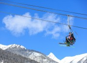 Winter activities in Golden BC Canadian Rockies
