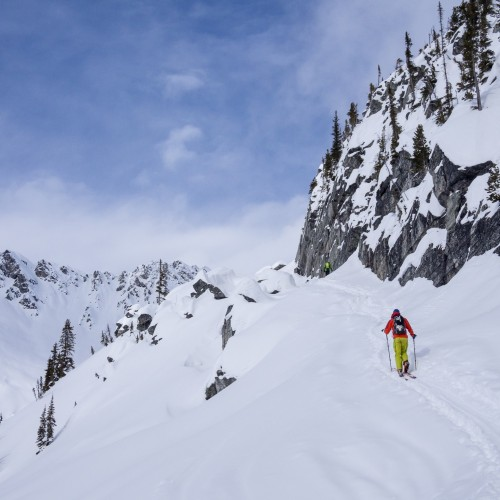 Photo: Leigh & Spring McClurg - Rogers Pass - Golden BC